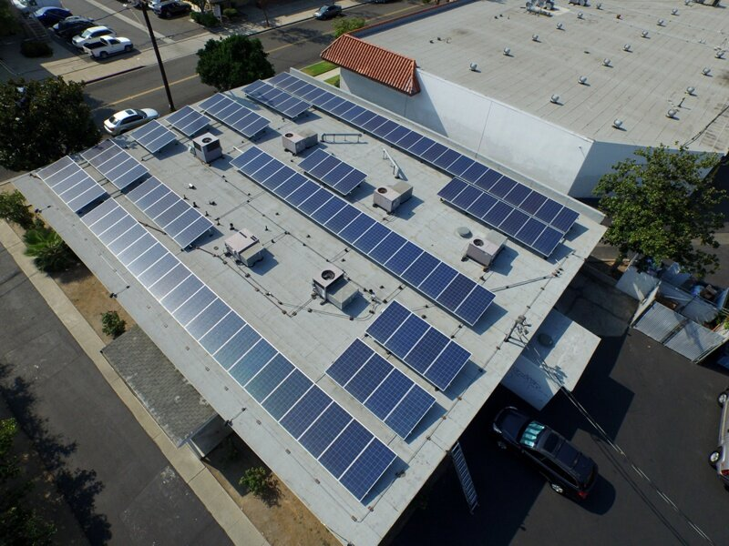 Energy intensive commercial printing operations turned to XsunX to take advantage of solar savings.