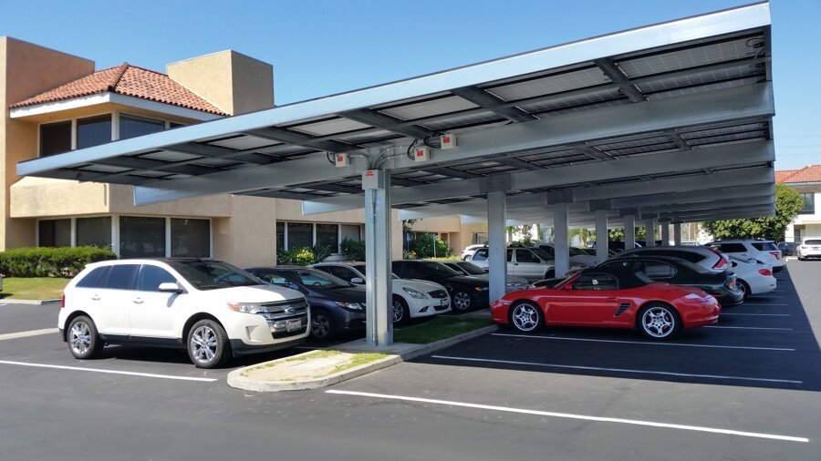 Commercial Solar Carport Canopies Design Amp Installation