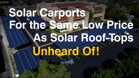 Commercial Solar Carport Orange County Ca